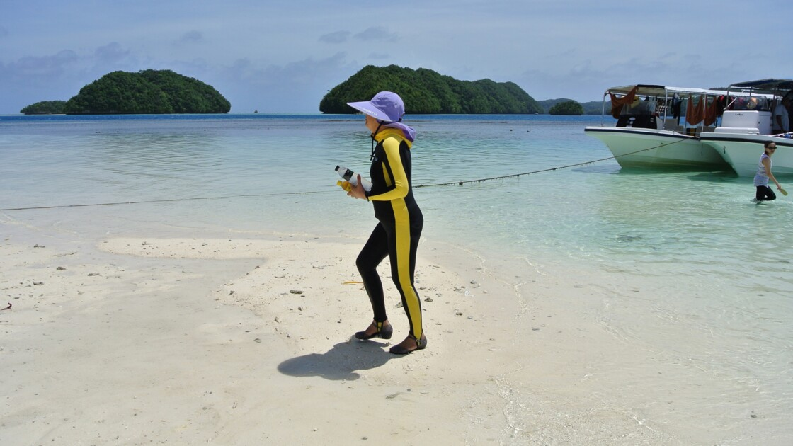 Un eden du Pacifique force les touristes à prêter serment à l'environnement