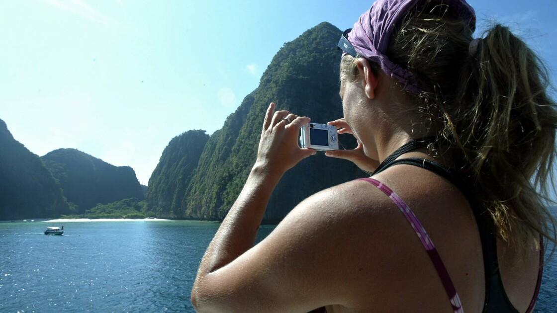"""Thaïlande : fermeture de la baie rendue célèbre par le film """"La plage"""""""