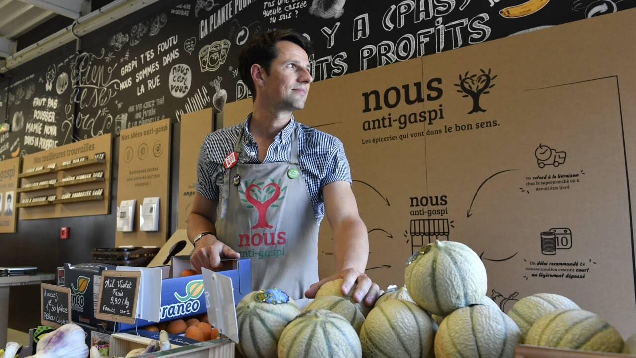 """En Bretagne, une épicerie """"anti-gaspi"""" qui détonne"""