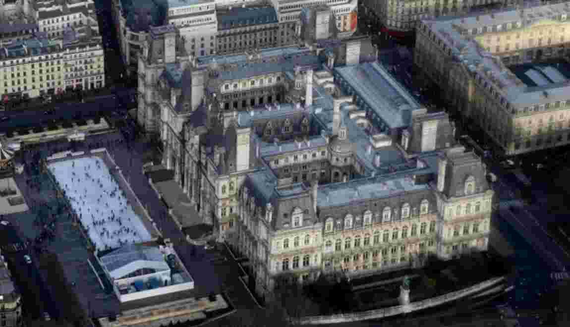 Un potager et bientôt une vigne sur un toit de l'Hôtel de Ville de Paris