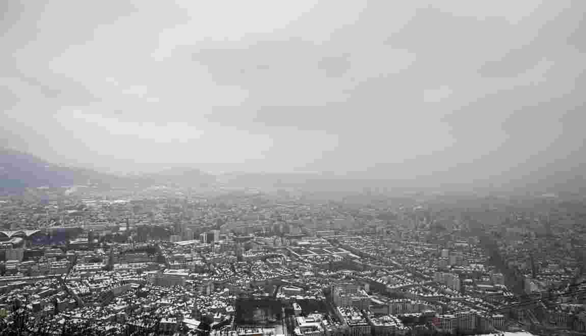 Grenoble vers un 11e jour consécutif de pic de pollution
