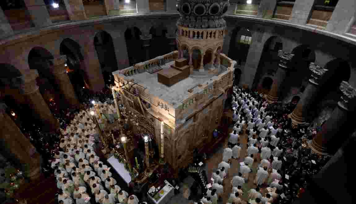 Des analyses confortent la tradition sur le lieu du tombeau du Christ