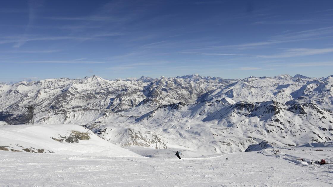Les Alpes perdraient 30% de leur neige avec un réchauffement de 2°C
