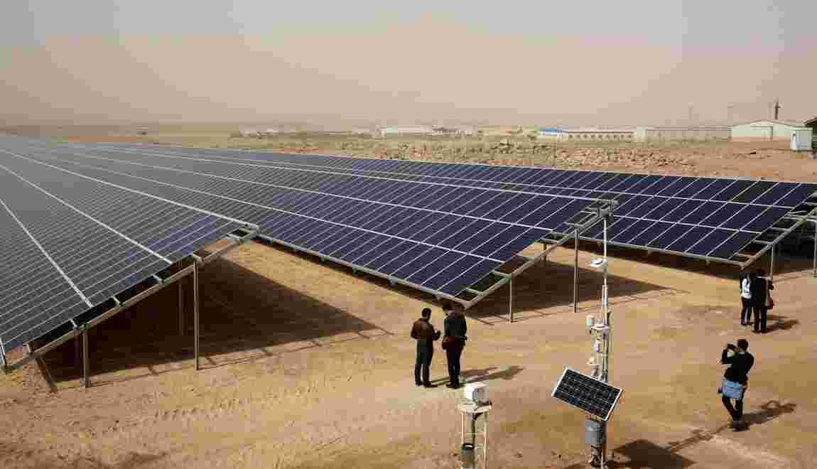 En Jordanie, la plus grande centrale solaire au monde dans un camp de réfugiés