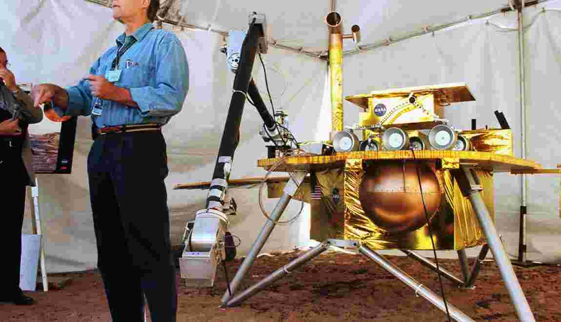 Atterrissages sur le sol martien: de nombreux échecs