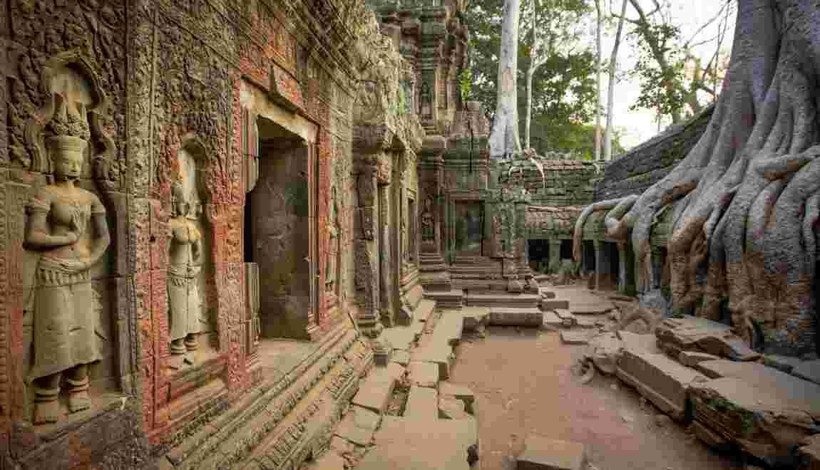VIDÉO – Angkor : les aventuriers de la cité perdue