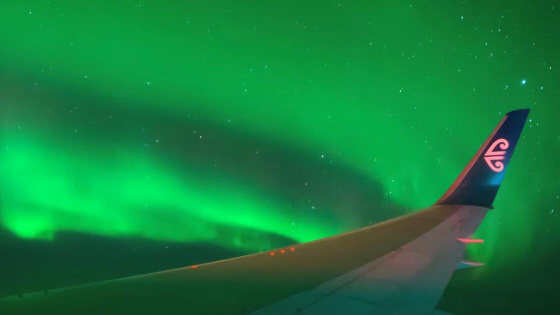 Un charter pour admirer les aurores australes