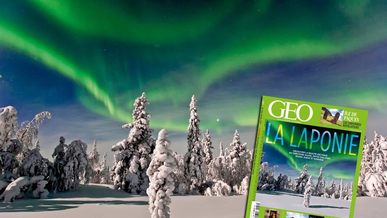 La Laponie à l'honneur dans le nouveau magazine GEO