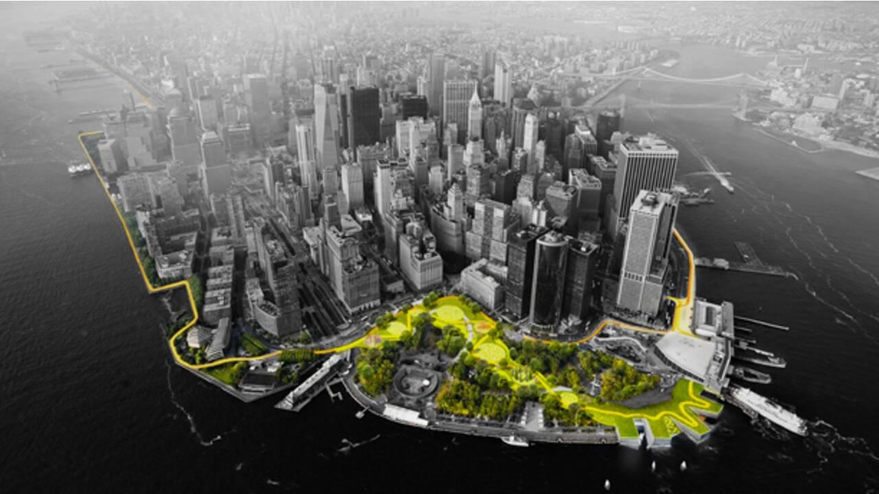 VIDÉO - New York : une digue verte géante pour sauver Manhattan