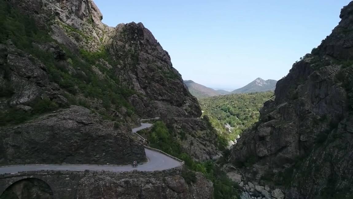 Ils ont traversé la Corse à vélo en moins de cinq jours