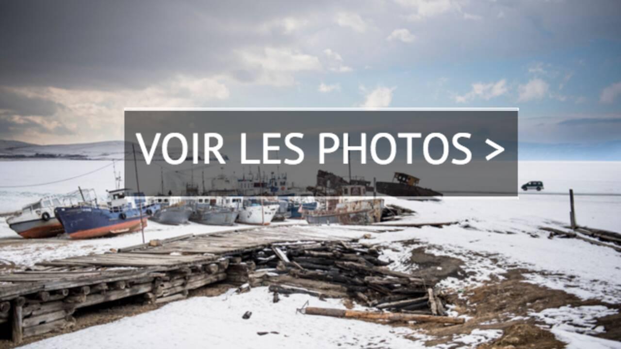PHOTOS - Lac Baïkal : l'hiver à l'état brut