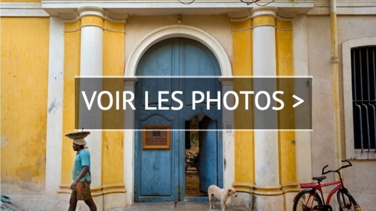 PHOTOS - Pondichéry, un parfum de France