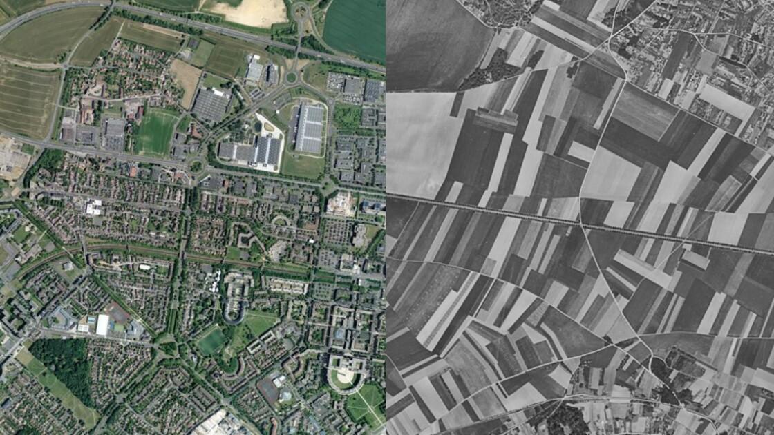 PHOTOS - Vue du ciel, la France a bien changé en 60 ans
