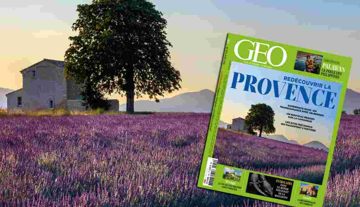Redécouvrir la Provence dans le nouveau numéro de GEO