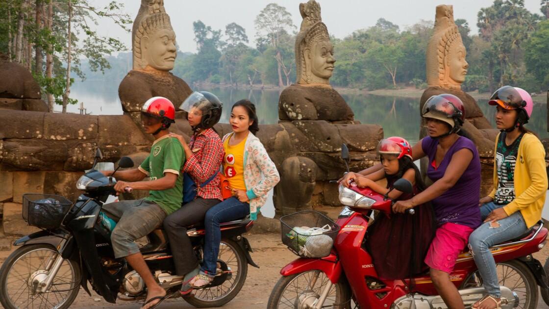 Angkor... et toujours vivant
