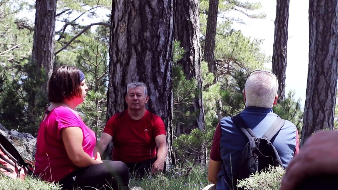 Thérapie en forêt en Catalogne