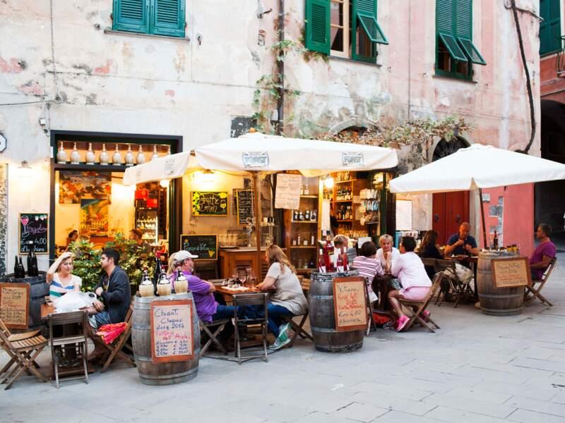 Pause fraîcheur à  Monterosso