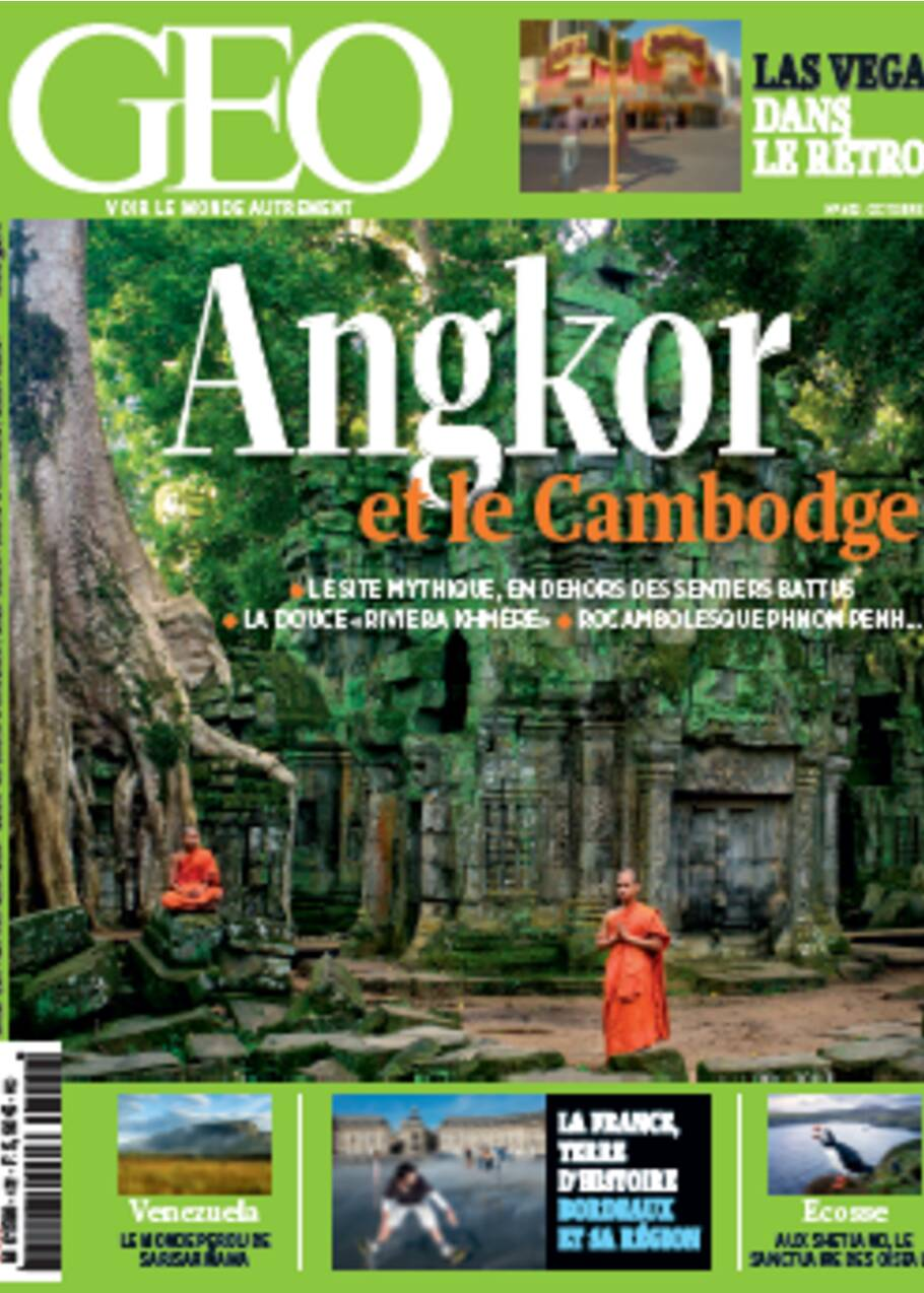 La magie d'Angkor, au Cambodge
