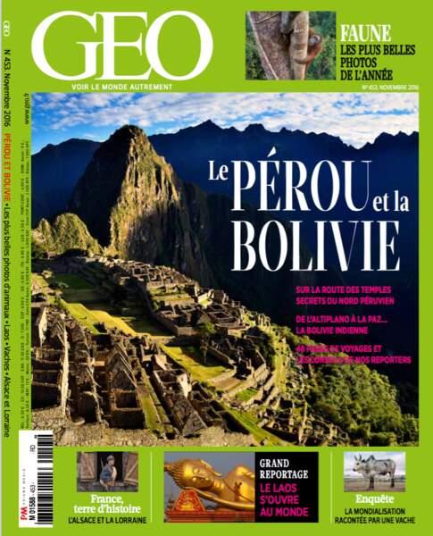Retrouvez l'intégralité du reportage dans le magazine GEO n°453 (novembre 2016)