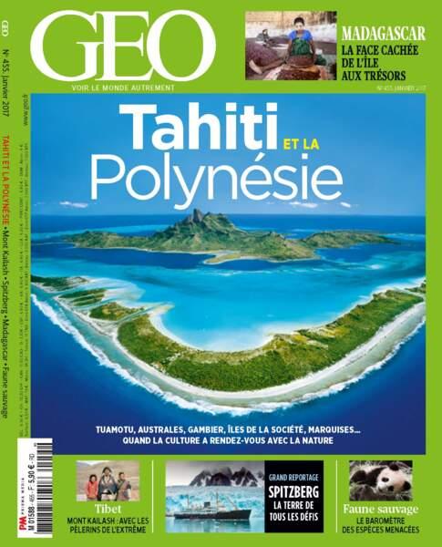 Retrouvez l'intégralité du reportage dans le magazine GEO n° 455 (janvier 2017)