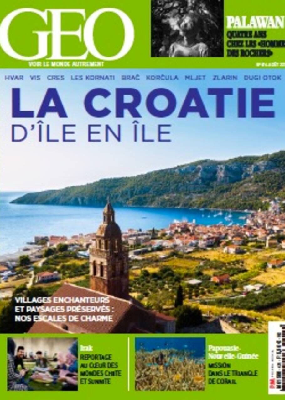 La Croatie d'île en île dans le nouveau magazine GEO