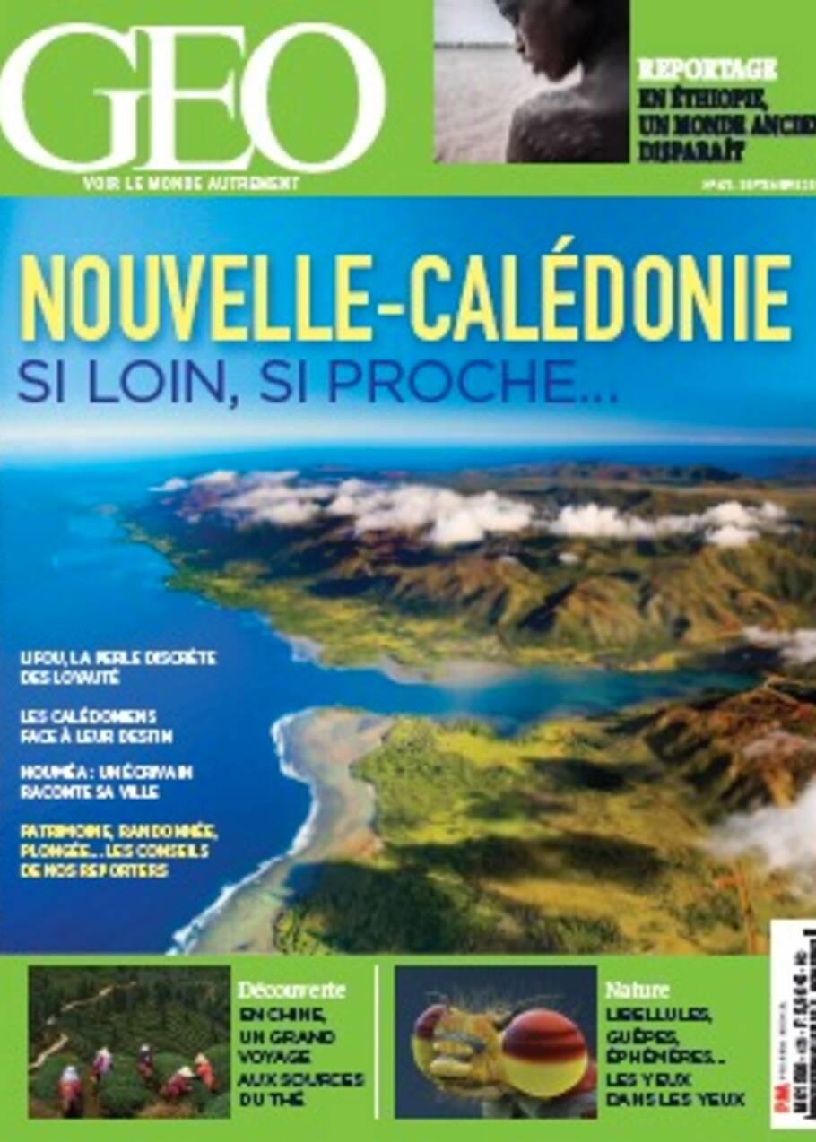 La Nouvelle-Calédonie dans le nouveau magazine GEO