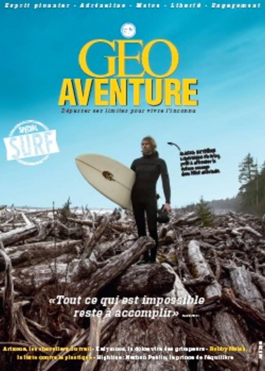 GEO Aventure spécial surf est sorti !