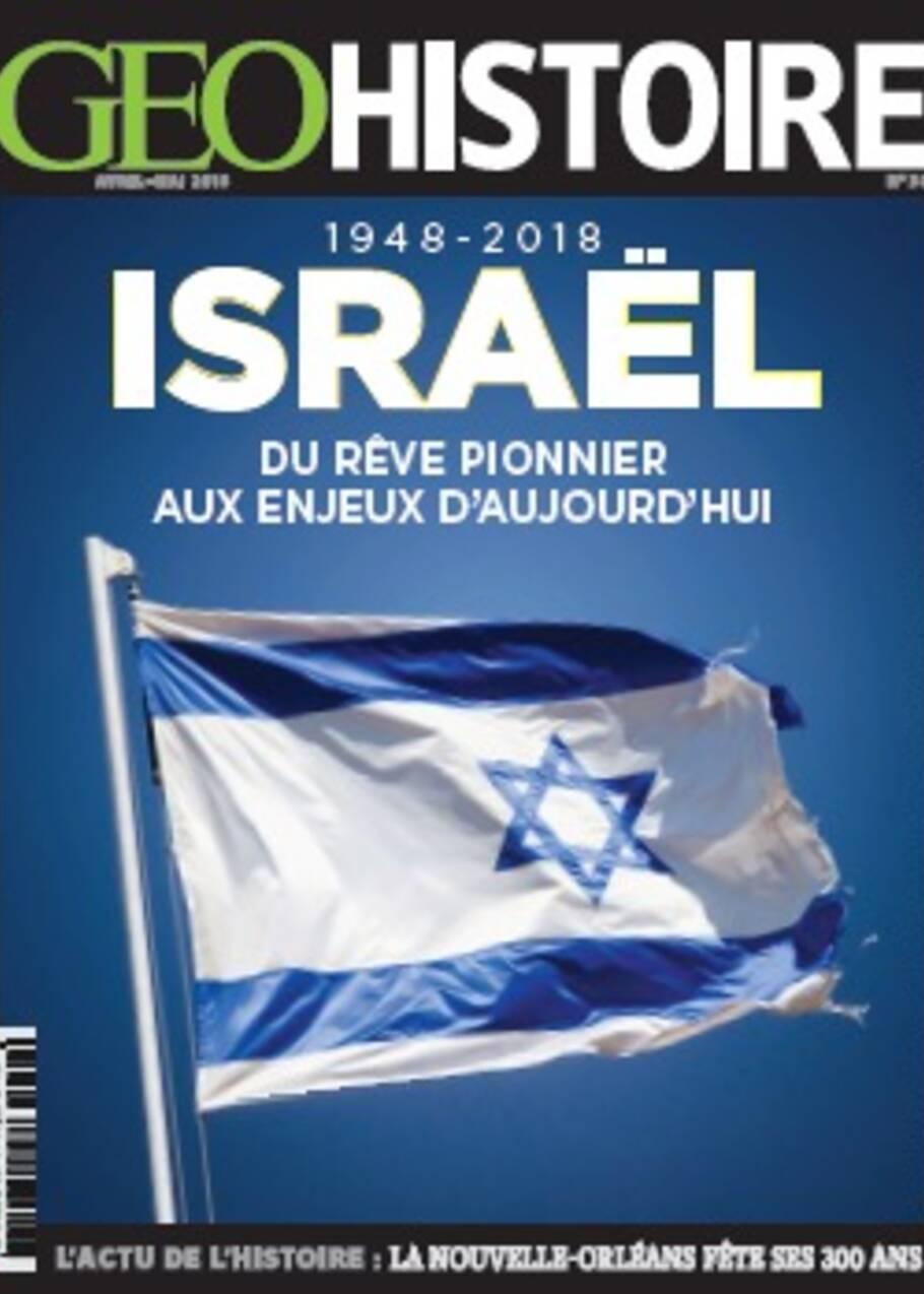 Israël dans le nouveau GEO Histoire