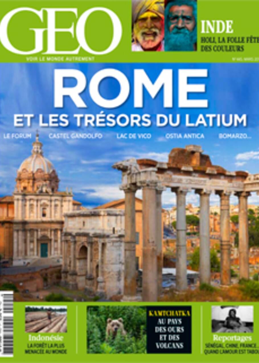 VIDÉO : Au sommaire du magazine GEO de mars 2016