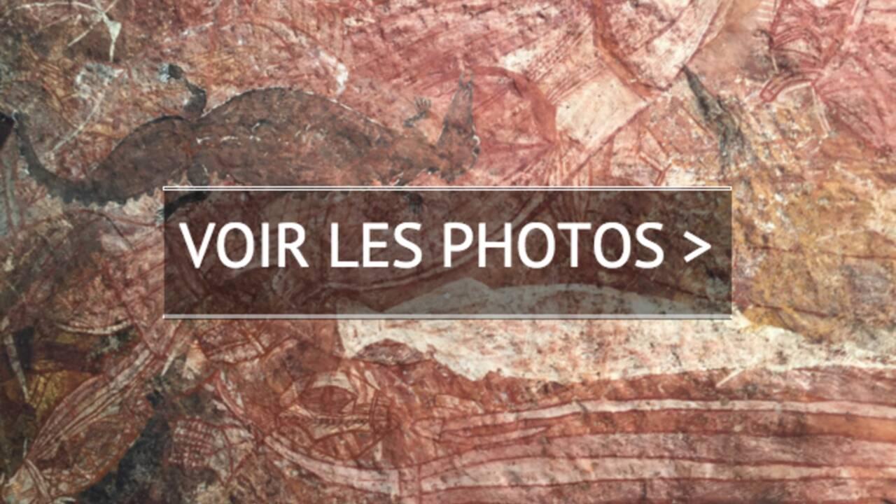 PHOTOS - Australie : les secrets des peintures rupestres aborigènes