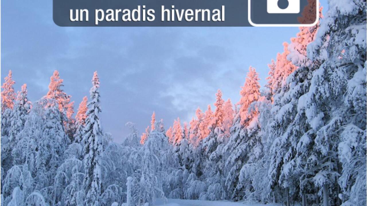 PHOTOS : Rêve d'hiver en Laponie