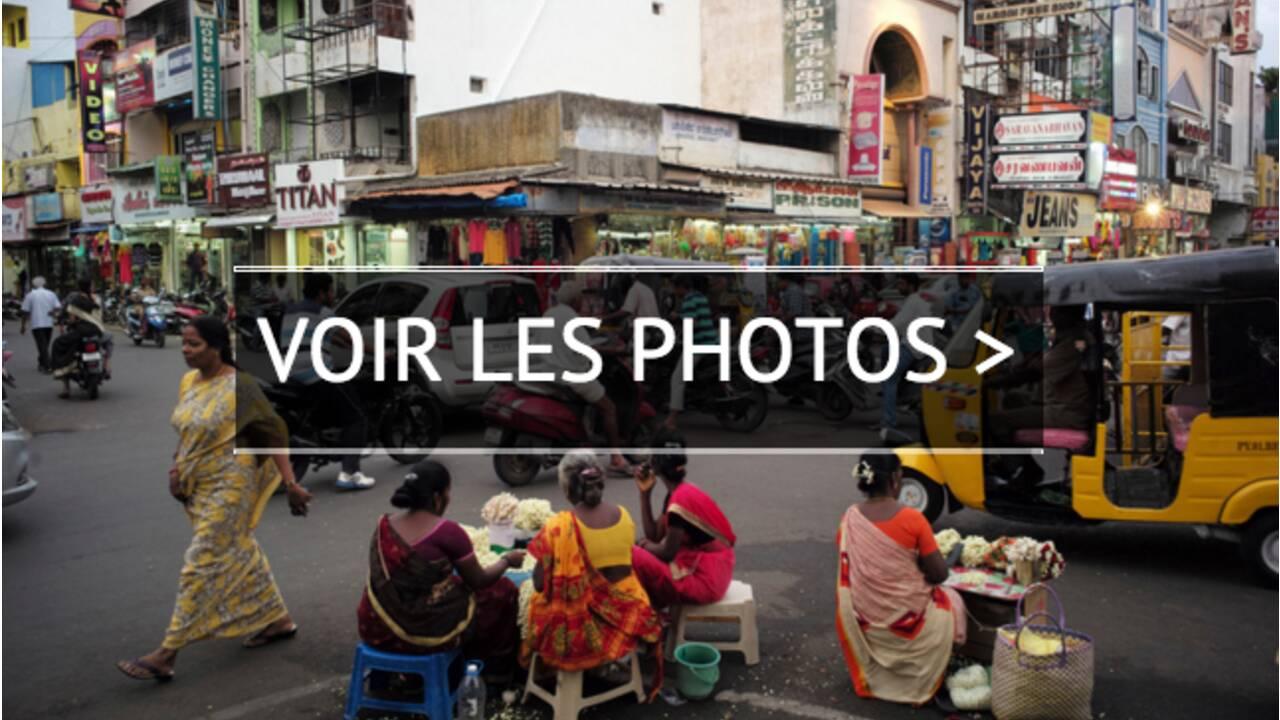 VIDÉO - Inde : à Pondichéry, un étrange parfum de France