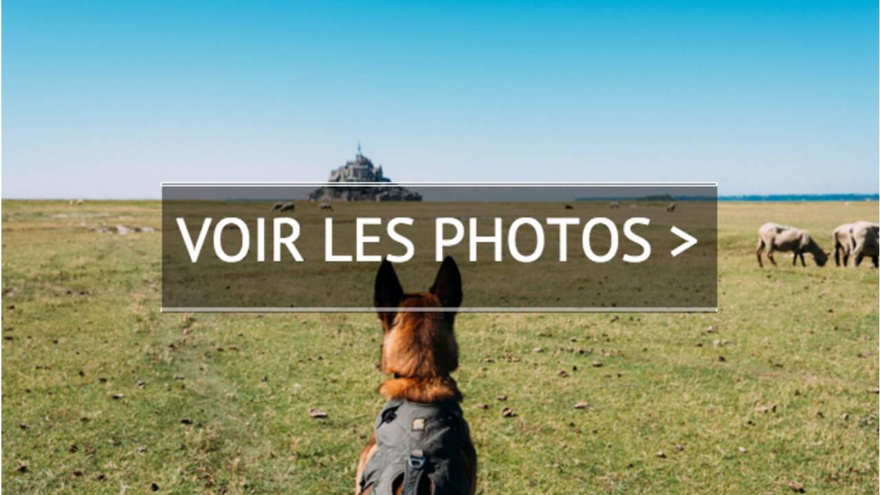 PHOTOS - 3300 kilomètres à pied sur les routes de France