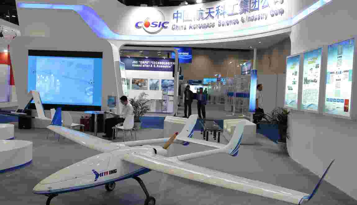 Le grand bond en avant des drones chinois