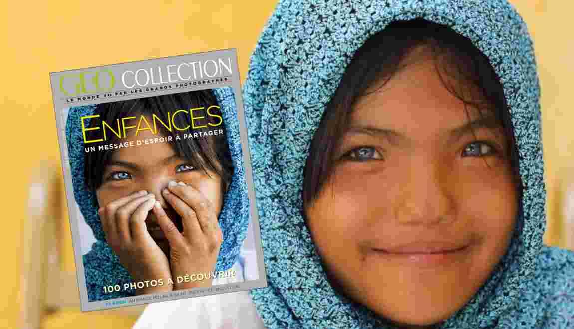 Enfances : un message d'espoir à partager, dans le nouveau numéro de GEO Collection