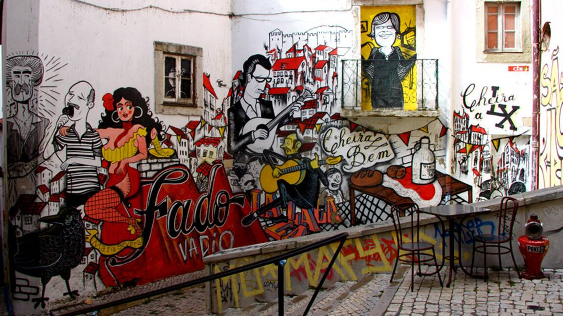 Lisbonne : des murs qui ne sont pas près de se taire