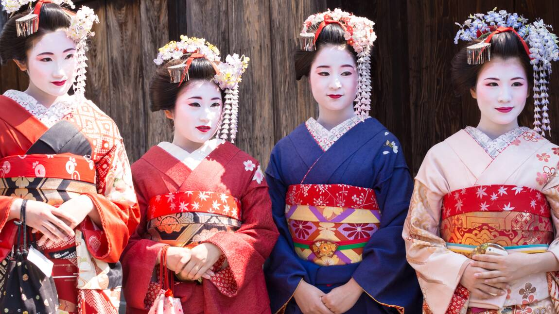 """Être geisha n'empêche pas d'innover !"""