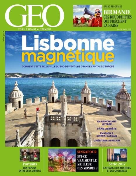 Retrouvez l'intégralité du reportage dans le GEO d'avril 2017 (458, Lisbonne)