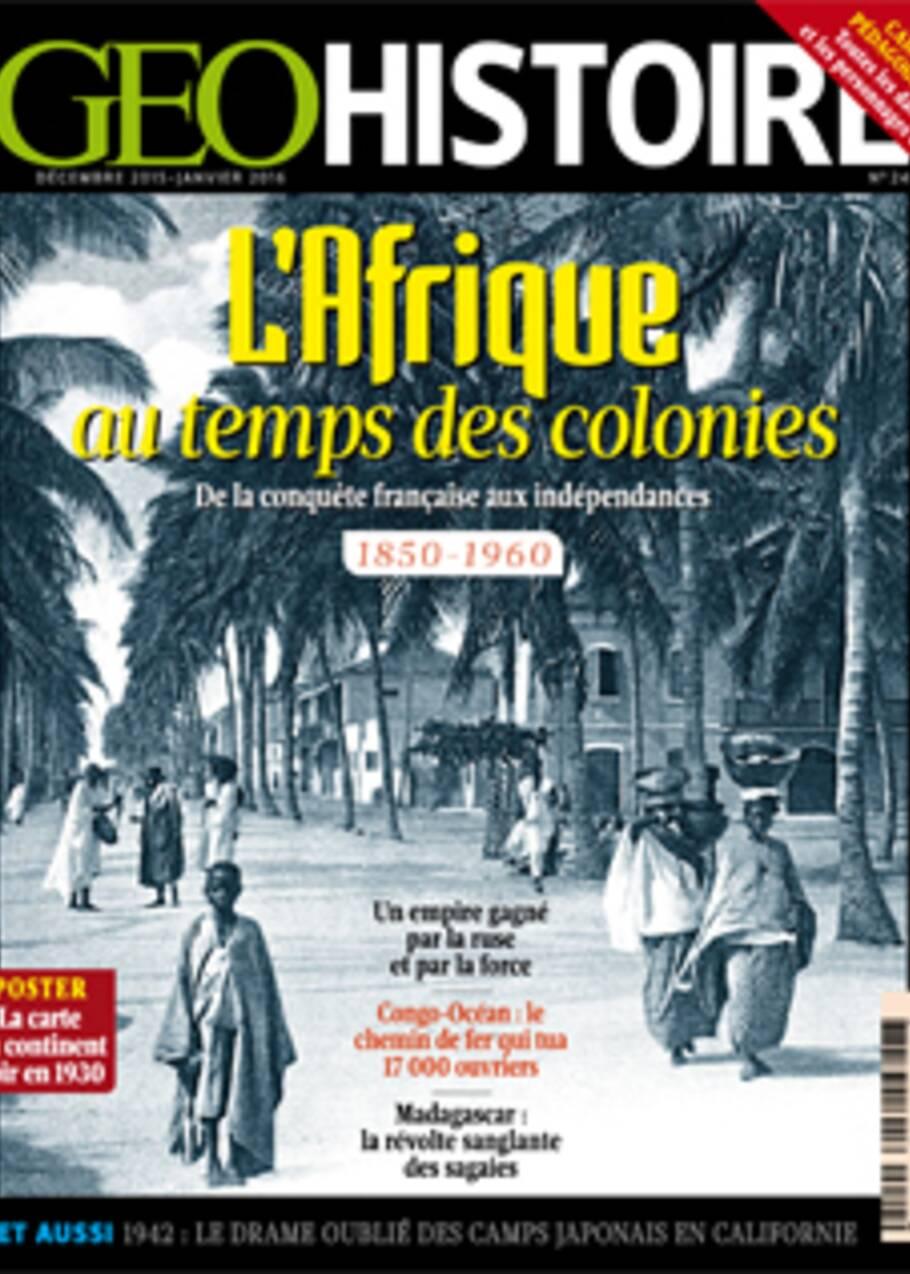 L'Afrique au temps des colonies : chantons sous les tropiques !