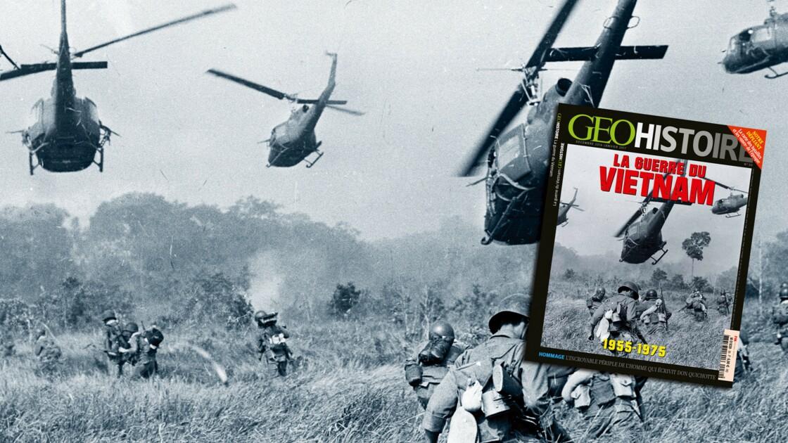 La guerre du Vietnam dans le nouveau numéro de GEO Histoire