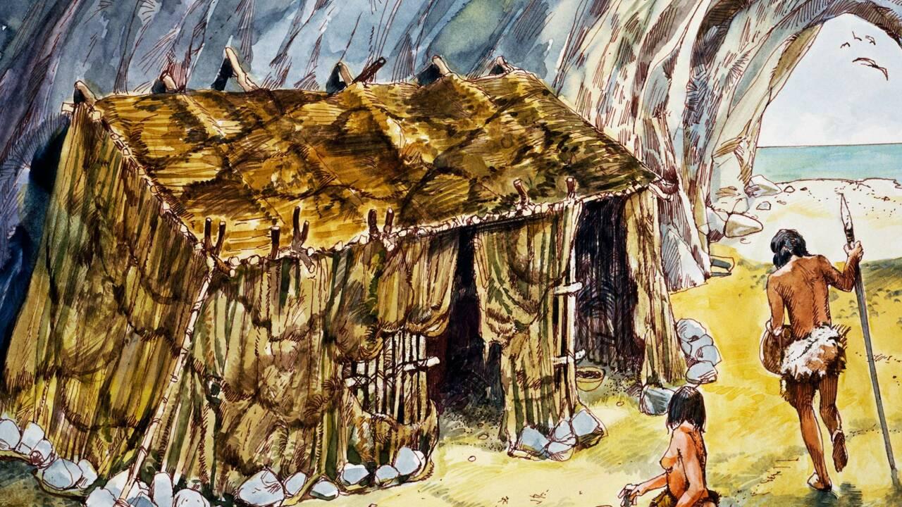 Non, Cro-Magnon n'habitait pas dans des grottes !