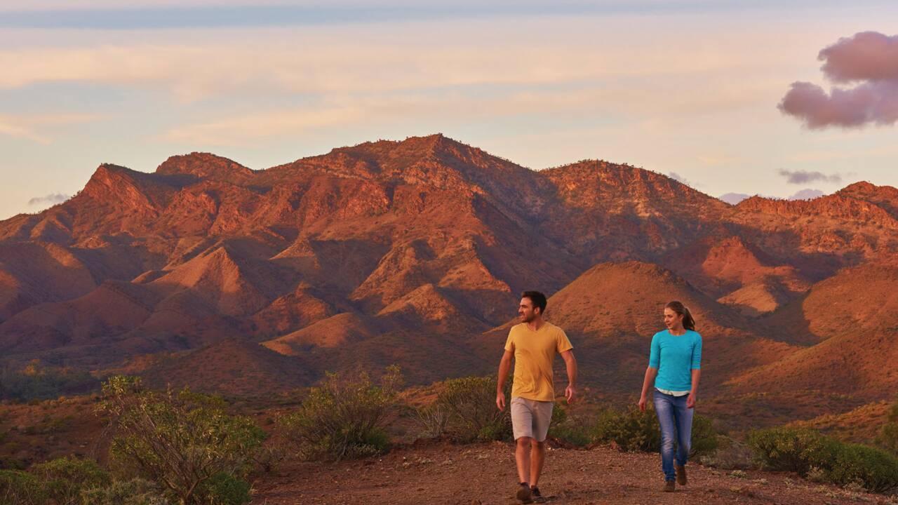 Ikara - Flinders Ranges, paysages préservés et légendes aborigènes