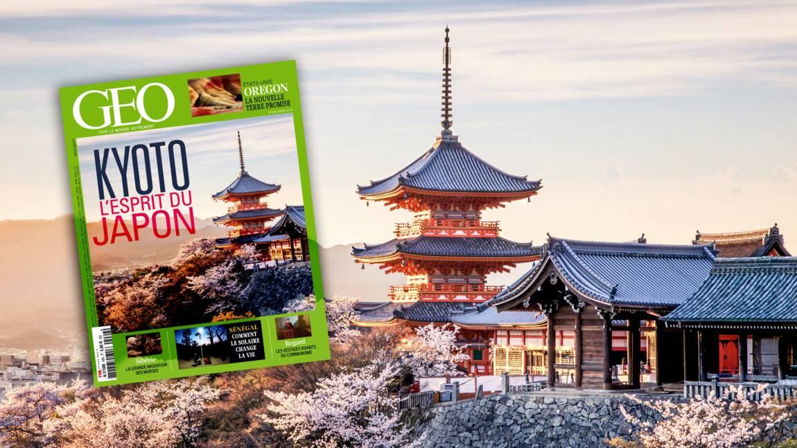 Kyoto dans le nouveau magazine GEO