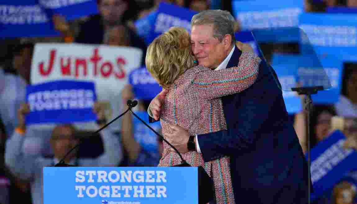 Elections américaines : pourquoi Al Gore soutient Hillary Clinton
