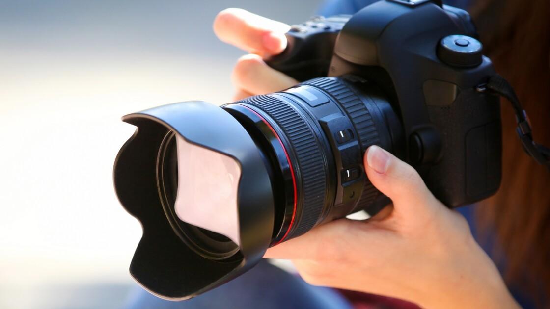 L'appareil photo reflex