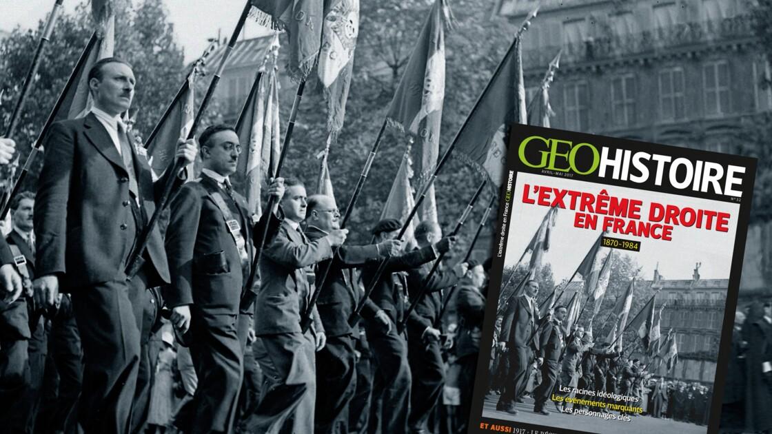 L'extrême droite en France dans le nouveau numéro de GEO Histoire