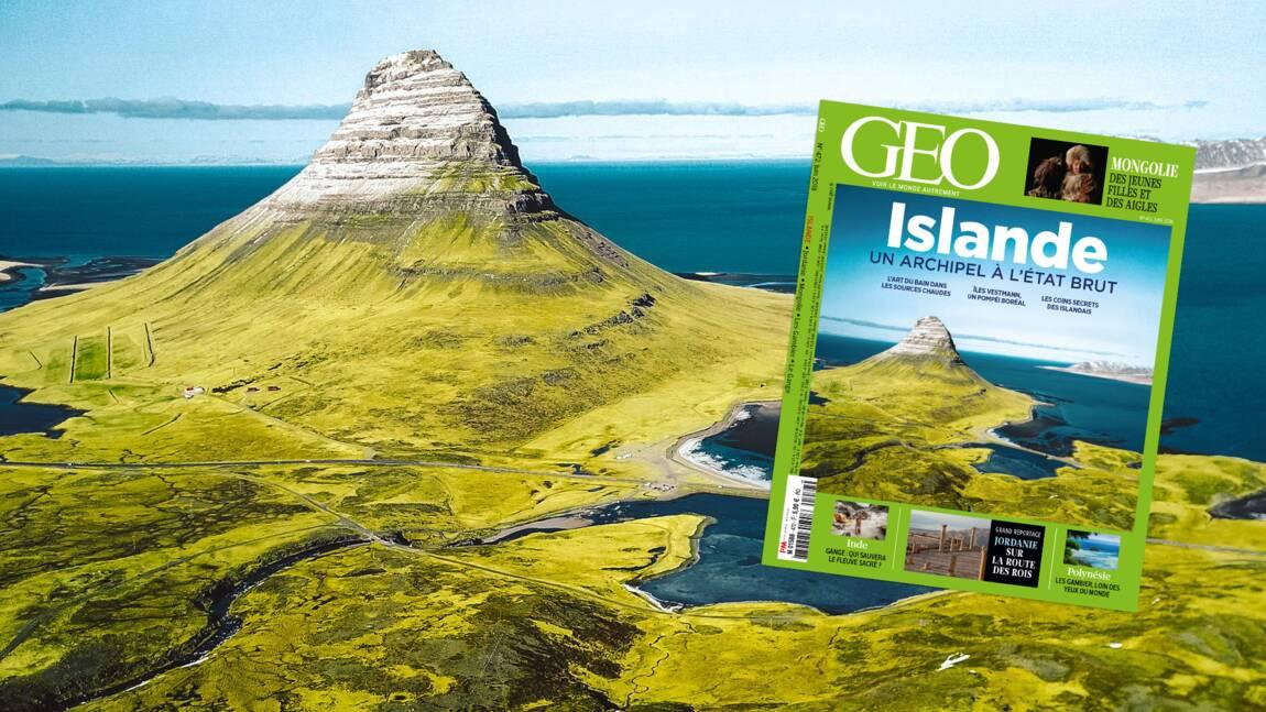 L'Islande dans le nouveau magazine GEO