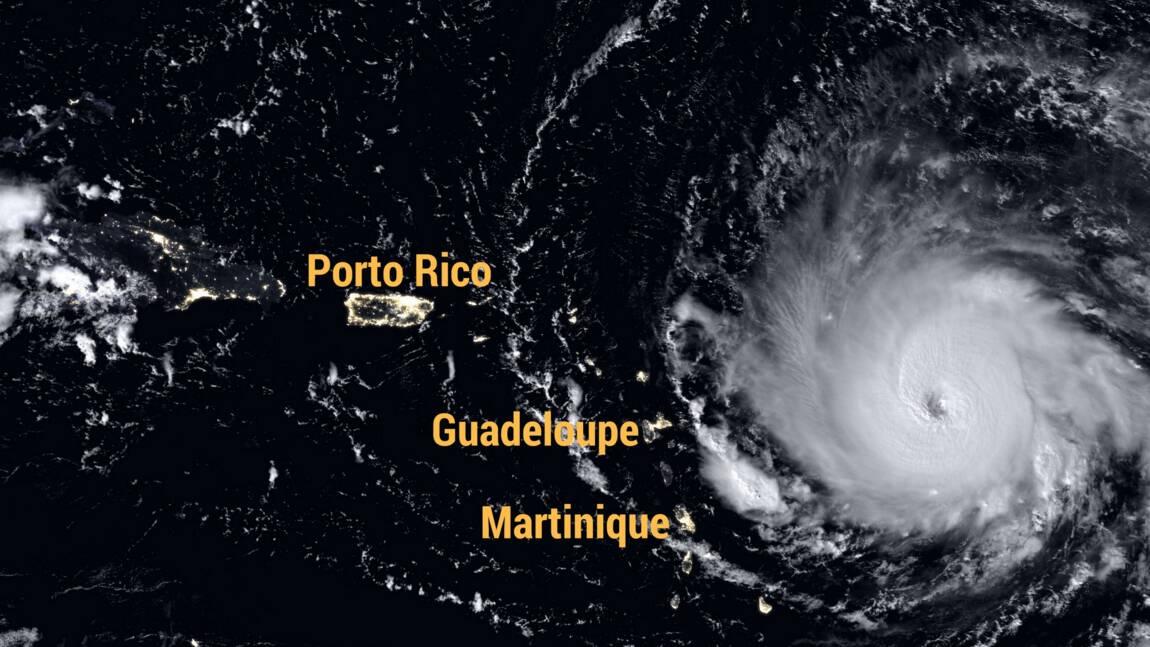 Ouragan Irma : alerte maximale dans les Antilles