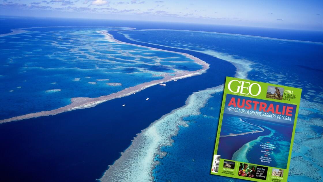 L'Australie et la Grande Barrière de corail dans le nouveau magazine GEO