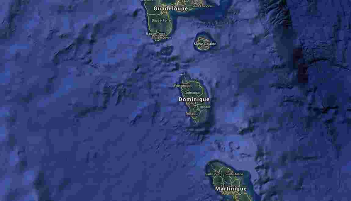 Les Antilles durement frappées par l'ouragan Maria